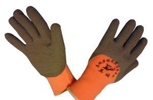 Перчатки нейлон, с вспененным латексным обливом, ЗИМА