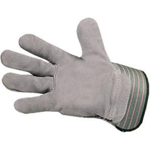 Перчатки спилковые комбинированные МЕХ