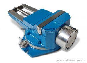 Тиски станочные поворотные 250 мм чугун 7201-0019-02 пневм. с гидроусилением (Гомель)