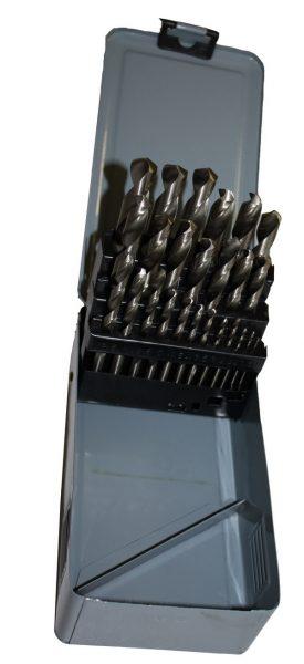 Набор сверл по мет. 1,0-13,0 мм  25 штук