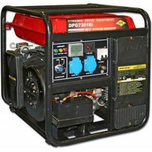 Генератор бензиновый инверторный DDE DPG7201Ei (230В,7.2кВт/8.0кВт/10кВА,3л/час,бак19л,электростартер)