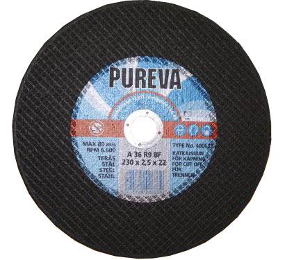 Круг   отрезной 230х2,5х22 PUREVA/400633