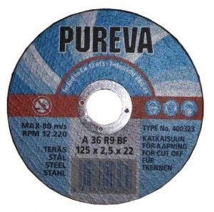 Круг   отрезной 125х2,5х22 PUREVA/400323