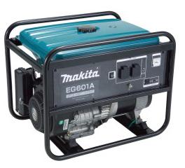Генератор бензиновый MAKITA EG601A (~230В,5.6кВт/6,0кВА,-12В,100Вт/8.3А,22л)