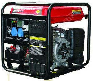 Генератор бензиновый инверторный DDE DPG5551Ei (230В,5.5/6.1кВт,3л/час,бак19л)