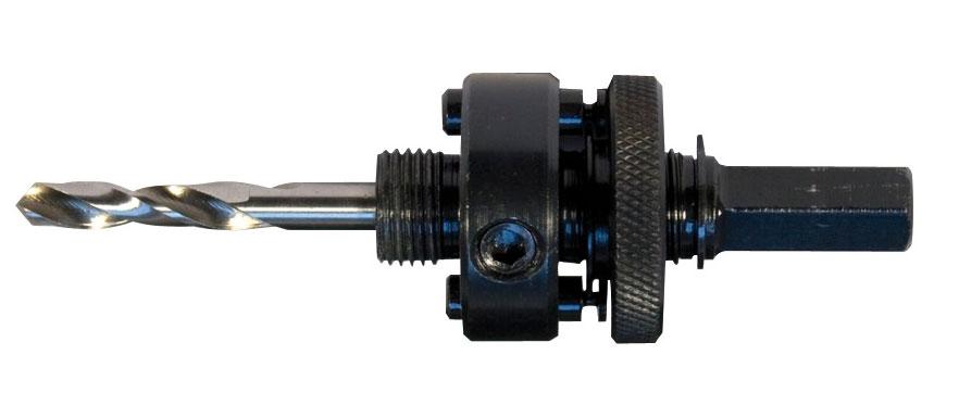 Адаптер для HSS Bi-Metal-коронок MAKITA (хвост11мм,L-114мм,d-32-152мм,сверло6мм)/D-17186