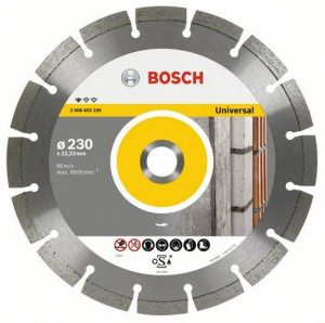 Диск алмазный 230х22 сегм. BOSCH Standard for Universal /2.608.602.195/