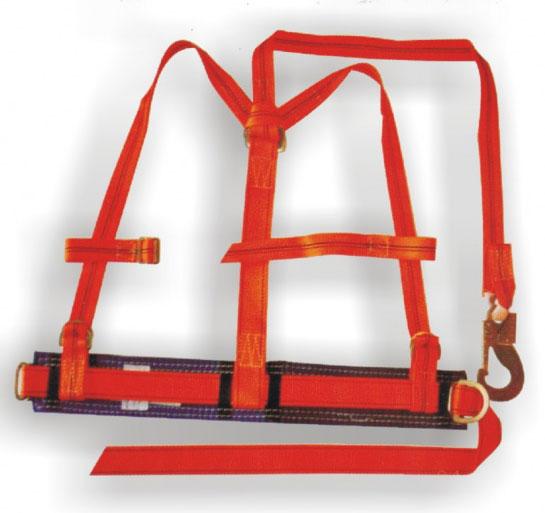 Пояс монтерский предохранительный ПП11АД (с плечевыми лямками и фалом из капрон. ленты)