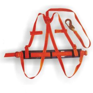 Пояс монтерский предохранительный ПП11АЖ (с плечевыми и ножными лямками и фалом из капрон. ленты