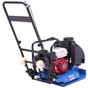 Виброплита TopMachine HGC-90H (4кВт,бензин.двиг.HondaGX160,530х500мм,100кг) **