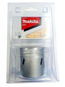 Коронка MAKITA по кирпичу/керамике (63мм,вольфрам.напыление)/D-51219