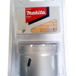 Коронка MAKITA по кирпичу/керамике (83мм,вольфрам.напыление)/D-51247