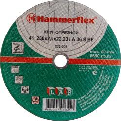 Круг   отрезной 125х2.5х22 HAMMER