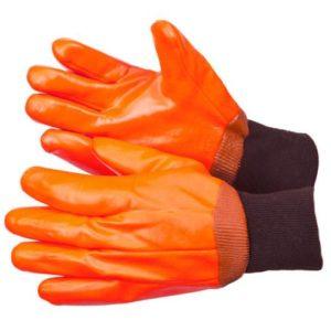 Перчатки облитые ПВХ МБС, утепленные