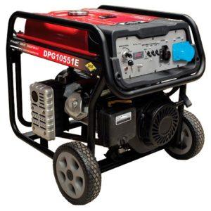 Генератор бензиновый DDE DPG10551E (ген.230В,7.5кВт/8.6кВА,двиг.16л.с,25л/8час,стартер)