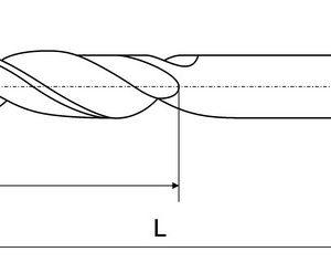 Сверло ц/х d  1,0 мм