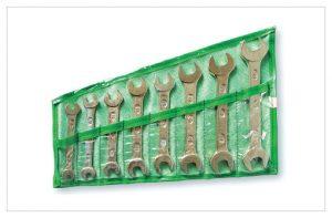Набор рожковых ключей  8шт (7х8-19х22) в сумке  Арефино