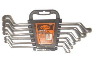 Набор накидных ключей  6шт (8х9-18х19) Автодело