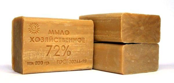 Мыло хозяйственное 72% 200гр.