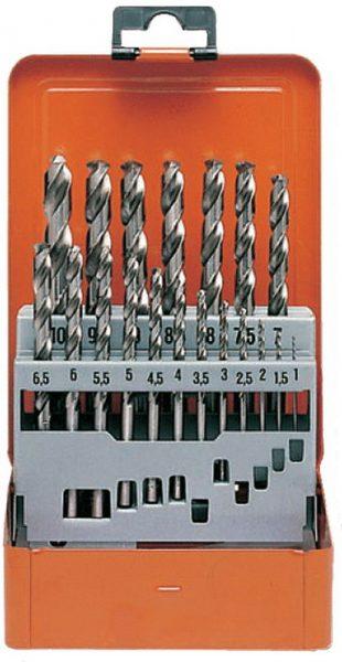 Набор сверл по металлу 1,0-10,0 мм  19 штук  НС-19