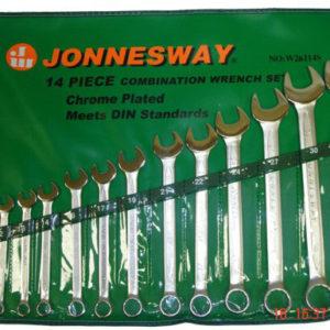 Набор комбинированных ключей 10-32 14шт. Jonnesway  (047402)