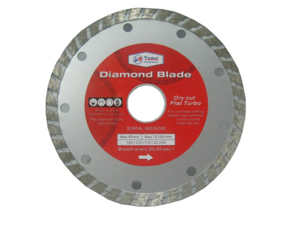 Диск алмазный 125х22 турбо   TAMO